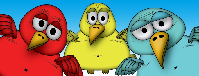 Fat Fart Birds Banner FB